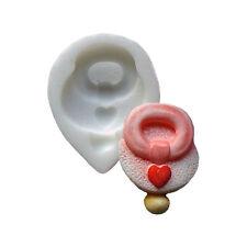 Maniquí de silicona molde de bebé, alimentos seguros, molde Sugarcraft Decoración de pasteles,