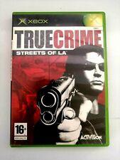 True Crime: Streets of LA (Xbox) PEGI 16+ bon état-Livraison gratuite