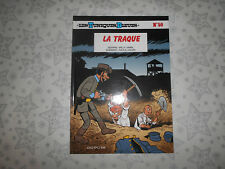 """EO LES TUNIQUES BLEUES tome 50 """"La Traque"""" - W. Lambil et R. Cauvin - Comme neuf"""