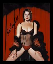 NEVE CAMPBELL AUTOGRAPHED SIGNED & FRAMED PP POSTER PHOTO