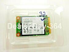 Crucial 32GB SATA 6Gb/s m4 mSATA internal SSD -CT032M4SSD3