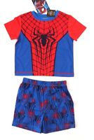 Marvel Spider-Man Toddler Boys 2-Piece Set Sizes 2T 3T 4T NWT Free Shipping