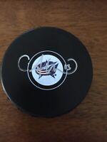 Autographed CAM ATKINSON Columbus Blue Jackets Hockey Puck - w / COA