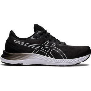 Asics Gel Excite 8 Mens Black Running Shoes Trainers Size 8-14