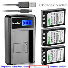 Kastar Battery LCD Charger for Olympus Li-10B & Olympus Camedia C-770 Ultra Zoom