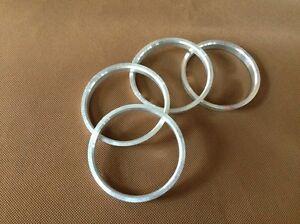 (4) Aluminum Hubrings | 74mm Wheels to 66.1mm Car Hub (Hub centric rings)