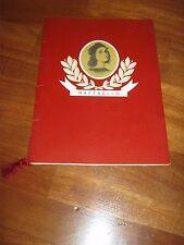 MENU 1972,PRANZO DI GALA TRANSATLANTICO RAFFAELLO,ITALIA NAVIGAZIONE,GENOVA