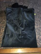 Women's Oilily Pants NWT Size 36 Black Velvet Feel Sequins