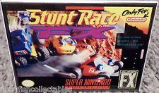 "Stunt Race Fx Snes Game Box 2"" x 3"" Fridge Locker Magnet Nintendo"