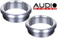Audio System Aluminium Ring HS 25 Pro/PLUS Alu Tuning for as Tweeter alueinbauring