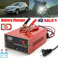 Auto Maintenance-free Battery Charger 12V/24V 10A 140W Output For Electric Car