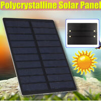 5V 1.3W Polycrystalline Solar Panel DIY Cell Phone Battery Power Charger Module