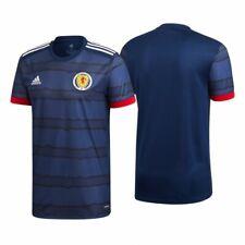 More details for men's brand new scotland home football shirt jersey 2020/21  size s-xxxl
