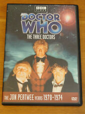 Doctor Who The Three Doctors Story No. 65 Dvd 2004 Pertwee Troughton Hartnell R1