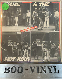 """Eddie and the hotrods - Live at the Marquee UK 7"""" single IEP2 Ex / Vg+"""