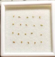 ALASKAN-YUKON GOLD NUGGETS, PICKERS, FLAKES 20 LOOSE (25-30 MESH).  L23at)