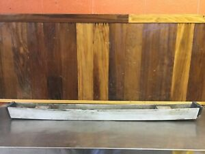 Bertone / Fiat X1/9 - Original Rear Bumper Bar Assembly.  #4403485.      F2285
