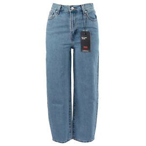 LEVI'S Damen Loose-Fit Jeans 853140008 Balloon Leg Blue Denim / W260 L26 / Hose