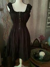 Turkish black peasant dress