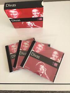Divas CD Album 3 Disc 2004 Doris Day, Judy Garland, Vera Lynne