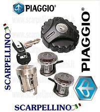 KIT SERRATURE PIAGGIO PORTER 1000 1200 1300 1400 ELETTRICO FINO AL 2009 - 263461