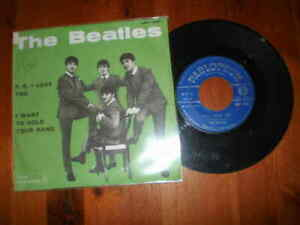 THE BEATLES-P.S.I love you/I want to hold your hand-Disco 45 giri-PARLOPHON-1964