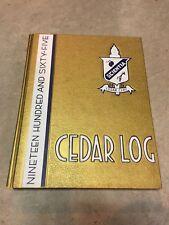 Vintage 1965 High School Yearbook Cedar Cliff H.S. Camp Hill Pennsylvania