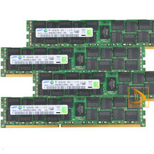 Samsung 4x 16GB 2RX4 PC3L-12800R DDR3L-1600MHz CL11 ECC REG Server RAM Memory GS