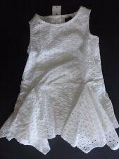 NWT Baby GAP 3T/Years Eyelet Layer Handkerchief Sleeveless Dress