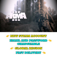 Arma 3 - New Steam Account - Global Region - Fast Delivery