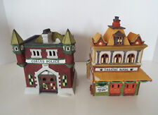 DEPARTMENT 56 DICKENS Village Retired Theatre Royal Cobles Police Station Lot