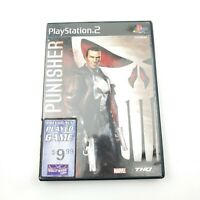 The Punisher PlayStation 2 PS2 Marvel Complete Game in Case With Manual