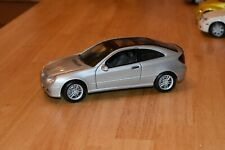 Maisto 1/18 Mercedes Benz C-Class Sport Coupe - Silver