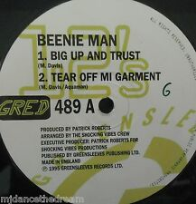"BEENIE MAN - Big Up & Trust ~ 12"" Single"