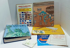 US Stamp Collection H.E. Harris Liberty Stamp Album and Liberty Kit 1847-1982