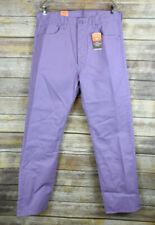 New Levis 501 Shrink to Fit Jeans Raw Denim Straight Leg Day Break Purple 38x34