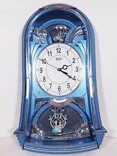 Adjanta Musical Pendulum melody Clock Made In India #4627 Tested working
