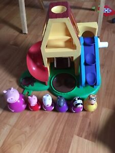 HASBRO WEEBLES - Peppa Pig & Friends Playhouse Playset with 6 weebles