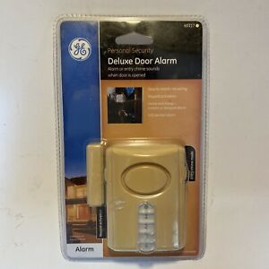 GE 45117 Wireless Deluxe Door Alarm Entry Chime w/ Programmable Keypad Code New