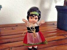 "Vintage 4"" Beautiful Japan Doll"