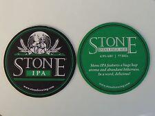 Gargoyle Beer Coaster <> Stone Brewing  IPA <> Abundant Bitternes <> CA Brewery