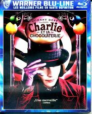 CHARLIE ET LA CHOCOLATERIE  avec johnny deep   BLURAY NEUF ref 2110163