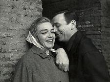 Photo de Presse Simone Signoret et Yves Montand 1950