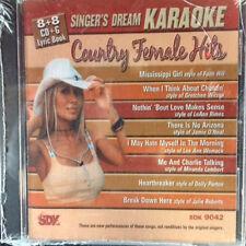 Singer's Dream Country Female Hits Sdk 9042