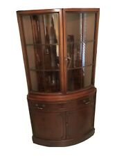 Bowfront Curio/China Cabinet