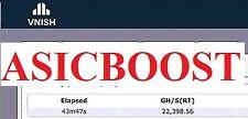 !!AsicBoost!! THE BEST EXISTING (v3.6.8) Antminer S9, S9i, S9j Custom Firmware