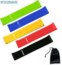Resistance Bands Exercise Band Loop Set Leg Crossfit Fitness Yoga Booty Training