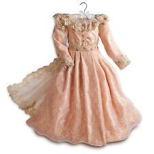 "DISNEY STORE AUTHENTIC ""MALEFICENT"" AURORA COSTUME DRESS W/TIARA- Girl SIZE 9/10"