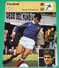 FOOTBALL PATRICK BATTISTON 1978 FRANCE FC METZ