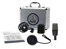 AKG C 414 XLS  Condenser Reference Microphone. U.S Authorized Dealer (Open Box)